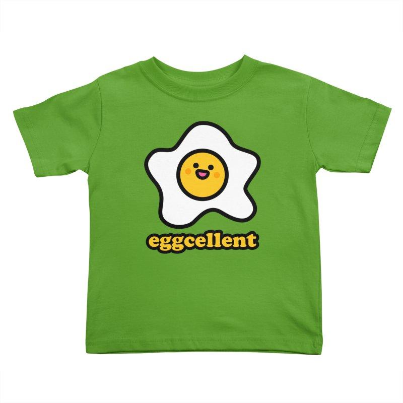 Eggcellent! Kids Toddler T-Shirt by StudioDelme