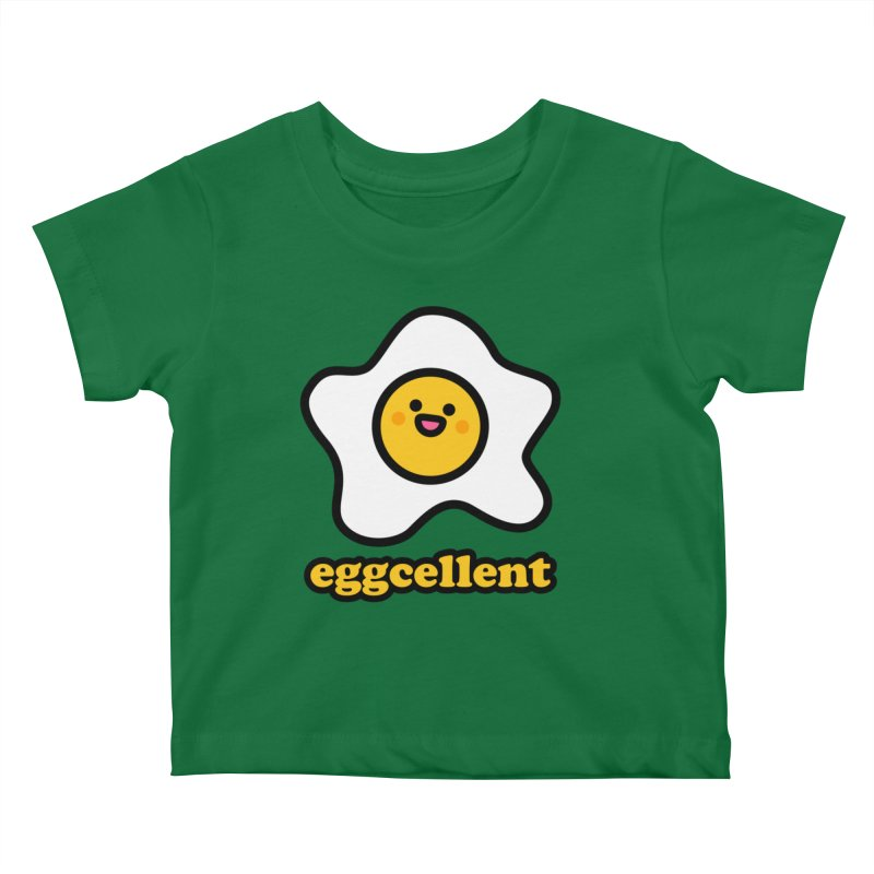 Eggcellent! Kids Baby T-Shirt by StudioDelme