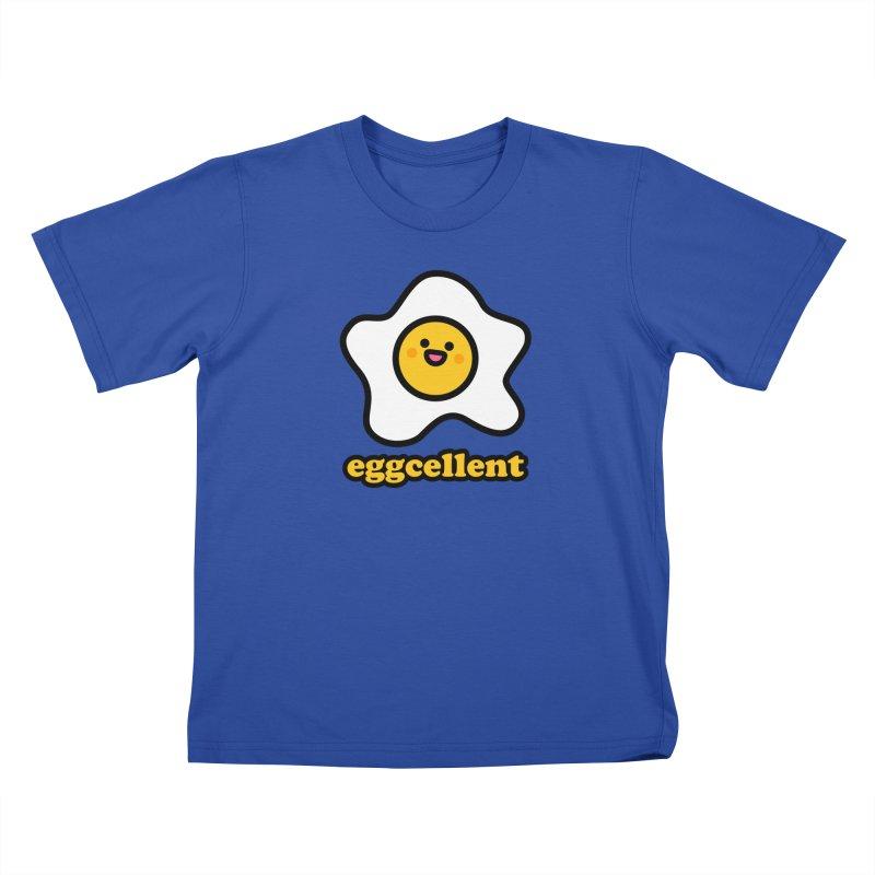 Eggcellent! Kids T-Shirt by StudioDelme
