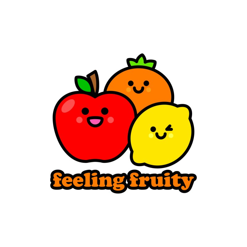 Feeling Fruity! Kids T-Shirt by StudioDelme