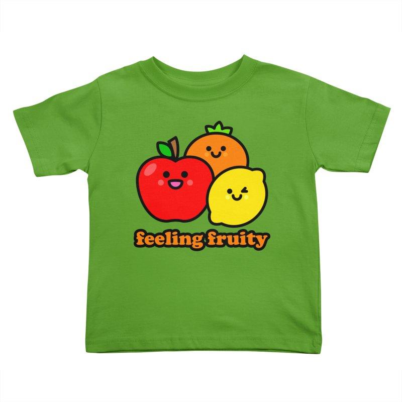 Feeling Fruity! Kids Toddler T-Shirt by StudioDelme