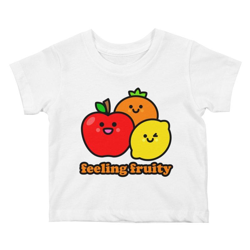 Feeling Fruity! Kids Baby T-Shirt by StudioDelme