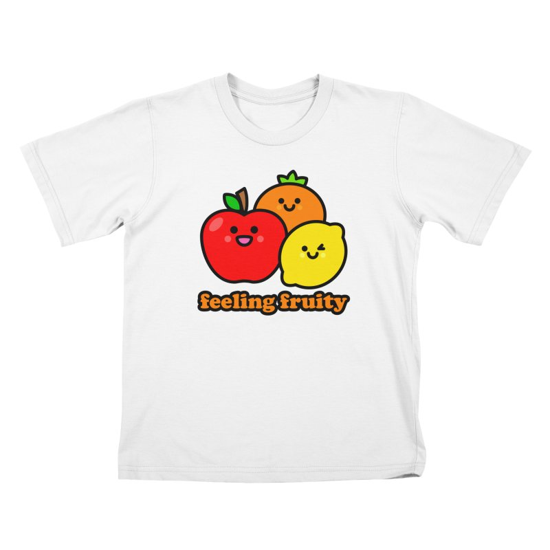 Feeling Fruity! Kids T-Shirt by StudioDelme