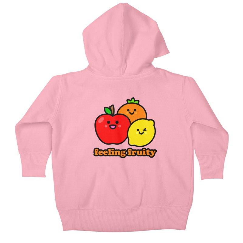 Feeling Fruity! Kids Baby Zip-Up Hoody by StudioDelme