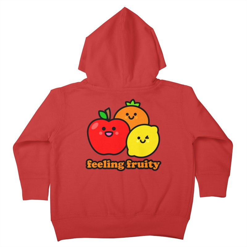 Feeling Fruity! Kids Toddler Zip-Up Hoody by StudioDelme