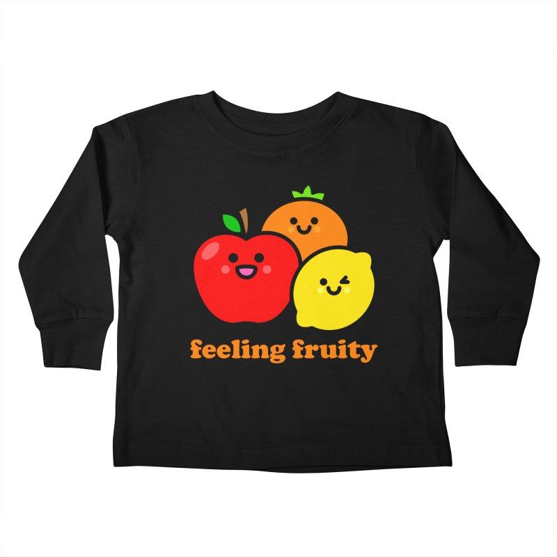 Feeling Fruity! Kids Toddler Longsleeve T-Shirt by StudioDelme