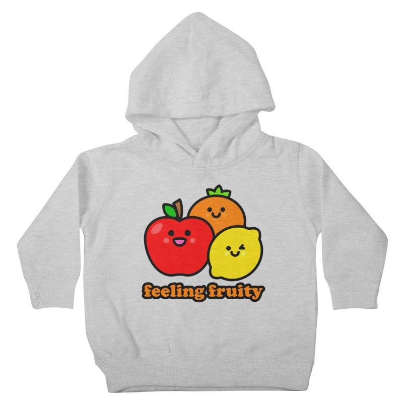 Feeling Fruity! Kids Toddler Pullover Hoody by StudioDelme