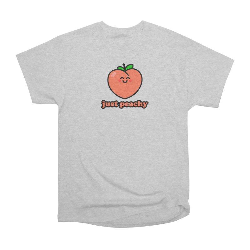 Just Peachy! Men's T-Shirt by StudioDelme