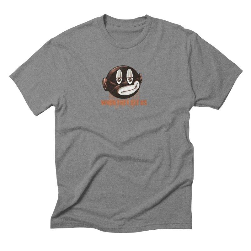 Chucktoons Crew Men's T-Shirt by StudioVexer's Artist Shop