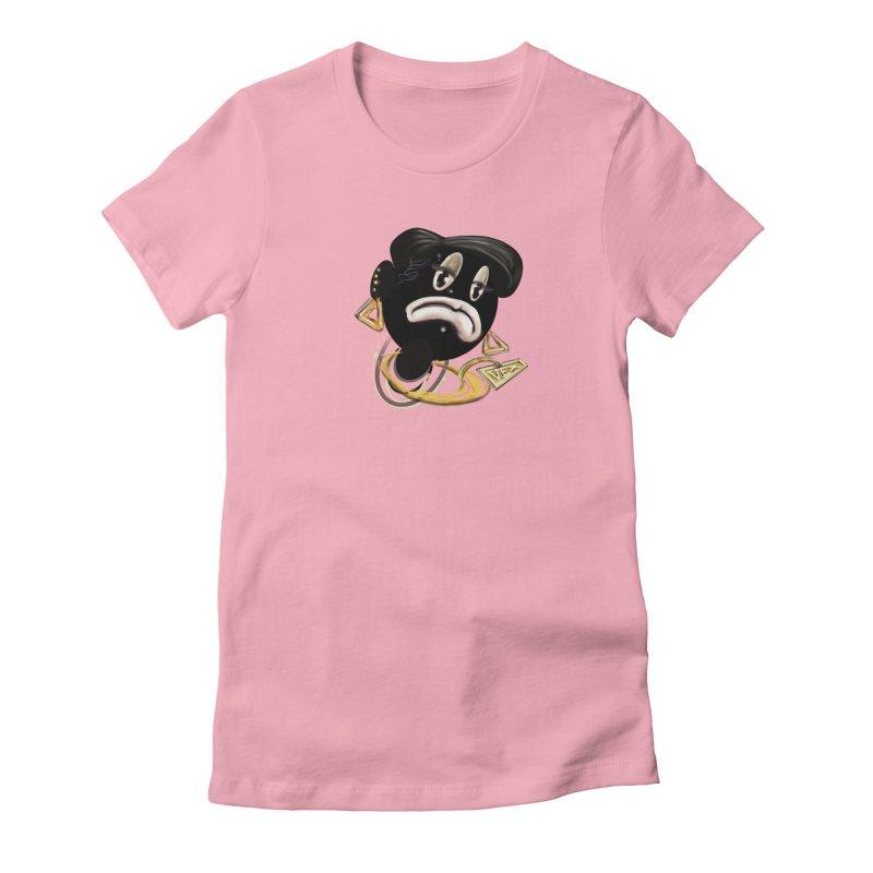 Chucktoon Crew Women's T-Shirt by StudioVexer's Artist Shop