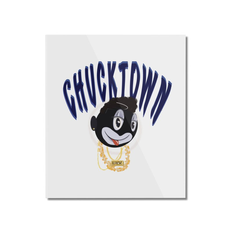 chucktown Home Mounted Acrylic Print by StudioVexer's Artist Shop