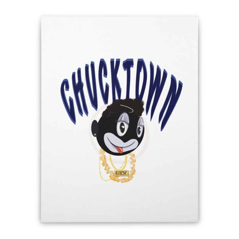 chucktown Home Stretched Canvas by StudioVexer's Artist Shop