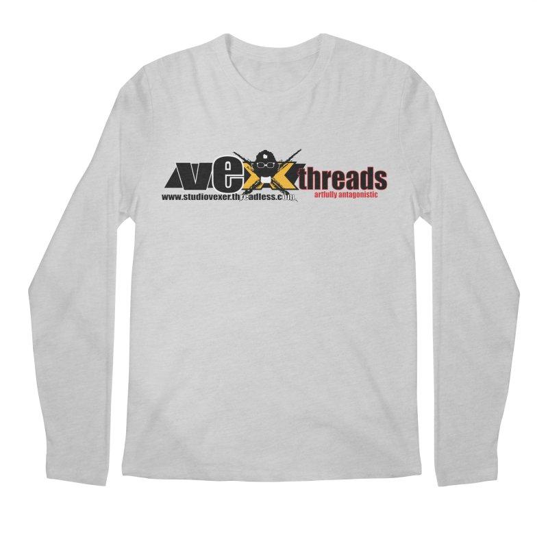Apparel logo Men's Longsleeve T-Shirt by StudioVexer's Artist Shop