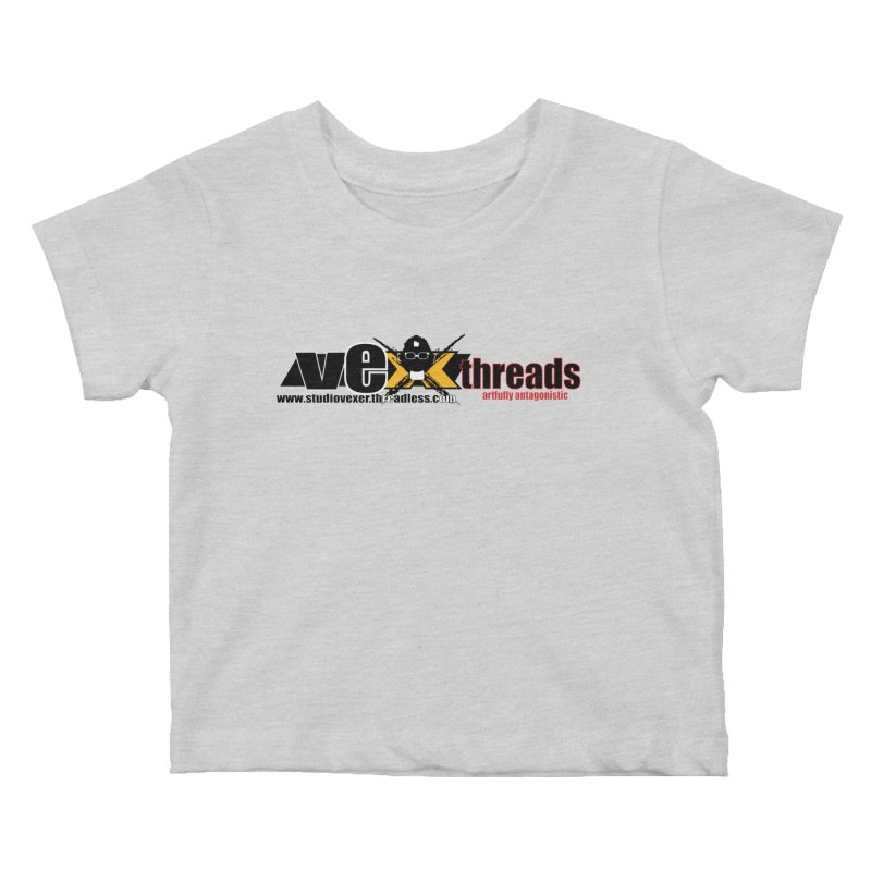 Apparel logo Kids Baby T-Shirt by StudioVexer's Artist Shop