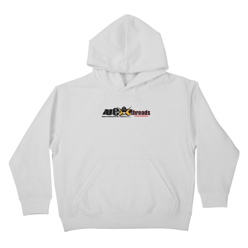 Apparel logo Kids Pullover Hoody by StudioVexer's Artist Shop