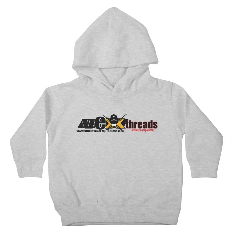 Apparel logo Kids Toddler Pullover Hoody by StudioVexer's Artist Shop
