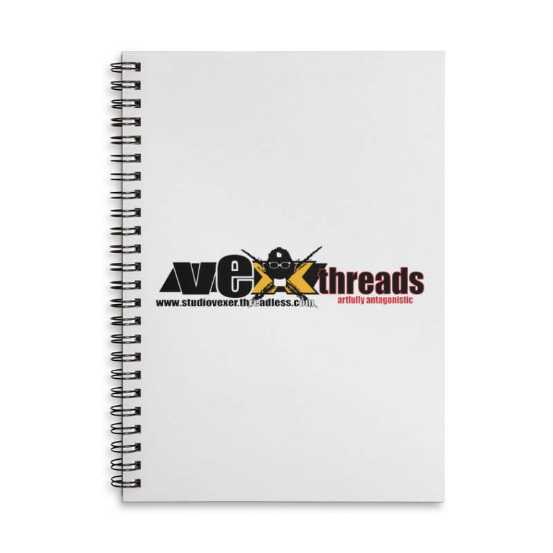 Apparel logo Accessories Notebook by StudioVexer's Artist Shop