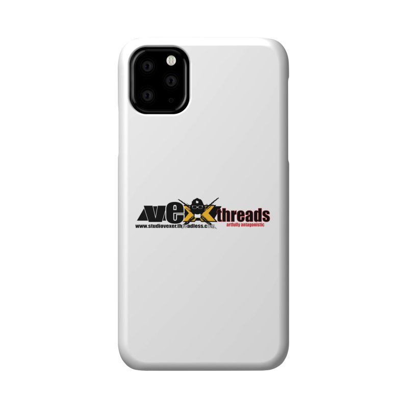 Apparel logo Accessories Phone Case by StudioVexer's Artist Shop