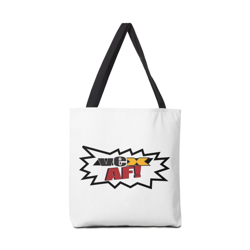 """VEX AF!"" design in scream balloon Accessories Bag by StudioVexer's Artist Shop"