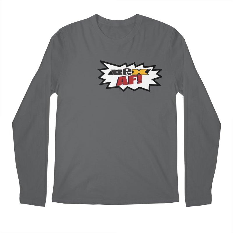 """VEX AF!"" design in scream balloon Men's Longsleeve T-Shirt by StudioVexer's Artist Shop"