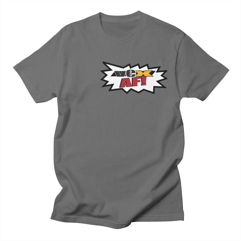 """VEX AF!"" design in scream balloon Men's T-Shirt by StudioVexer's Artist Shop"