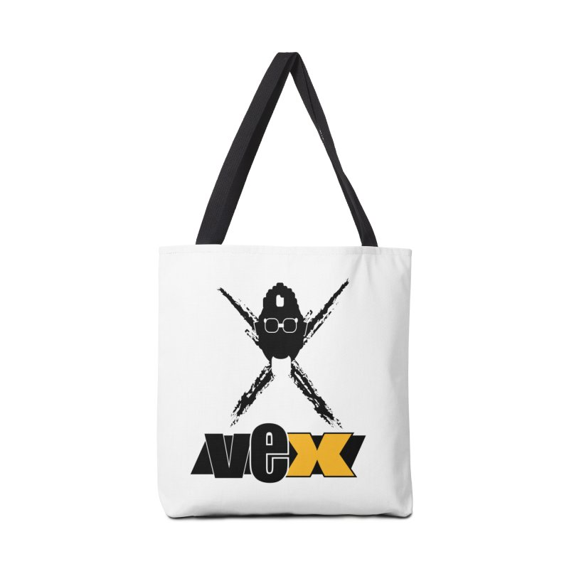 """The VEXer Imprint and """"Nickname"""" logo Accessories Bag by StudioVexer's Artist Shop"""