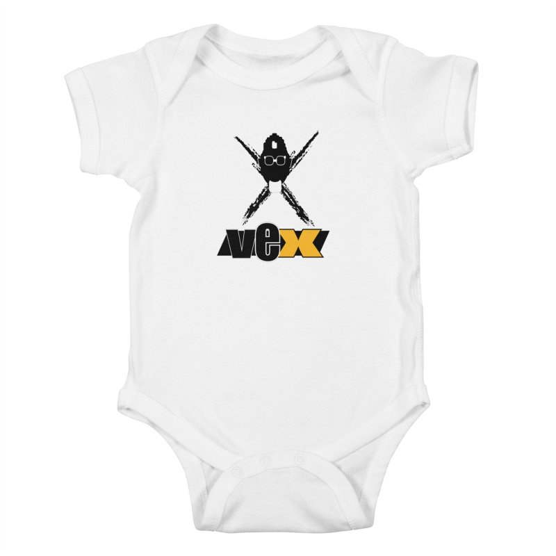 "The VEXer Imprint and ""Nickname"" logo Kids Baby Bodysuit by StudioVexer's Artist Shop"