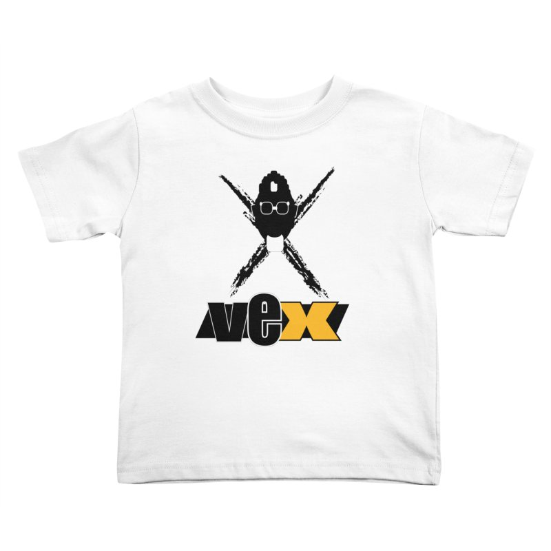 """The VEXer Imprint and """"Nickname"""" logo Kids Toddler T-Shirt by StudioVexer's Artist Shop"""