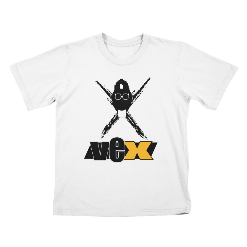 """The VEXer Imprint and """"Nickname"""" logo Kids T-Shirt by StudioVexer's Artist Shop"""