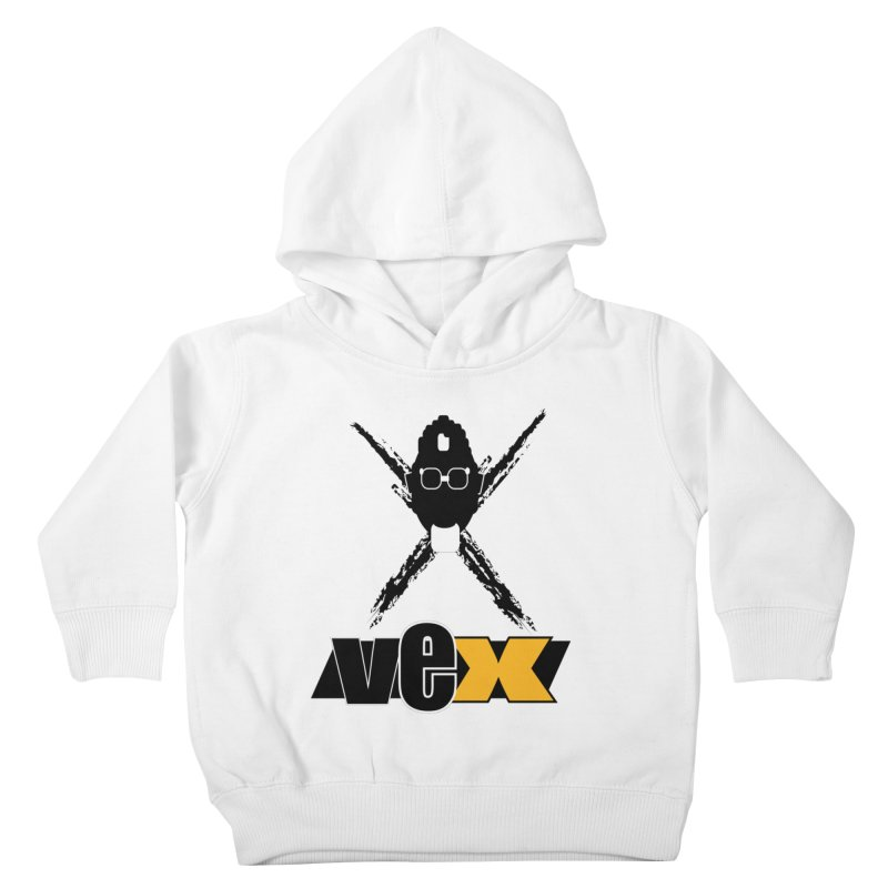 """The VEXer Imprint and """"Nickname"""" logo Kids Toddler Pullover Hoody by StudioVexer's Artist Shop"""