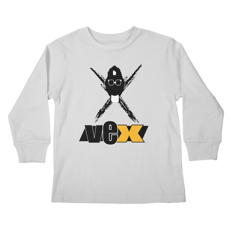 """The VEXer Imprint and """"Nickname"""" logo Kids Longsleeve T-Shirt by StudioVexer's Artist Shop"""