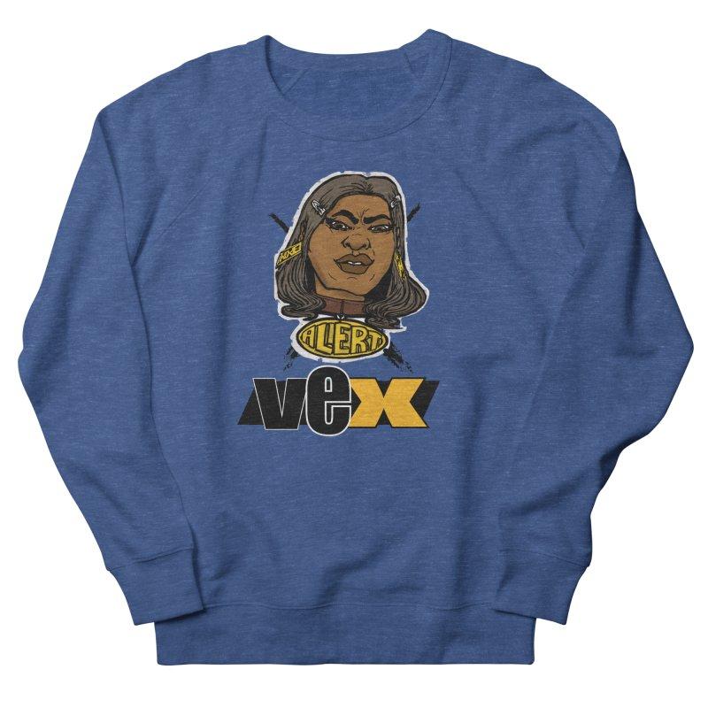 Alert VexFace design Women's Sweatshirt by StudioVexer's Artist Shop
