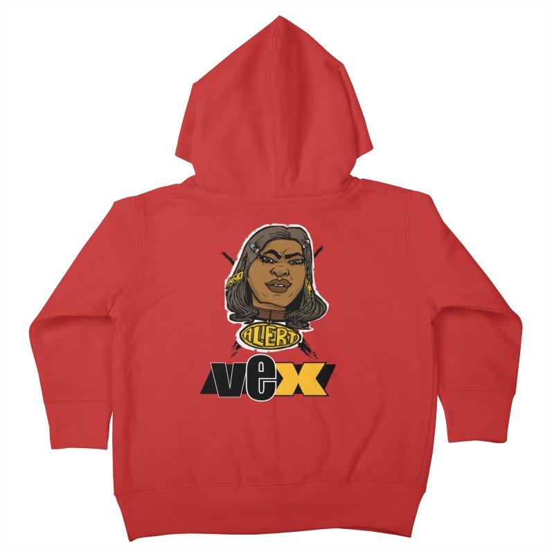 Alert VexFace design Kids Toddler Zip-Up Hoody by StudioVexer's Artist Shop