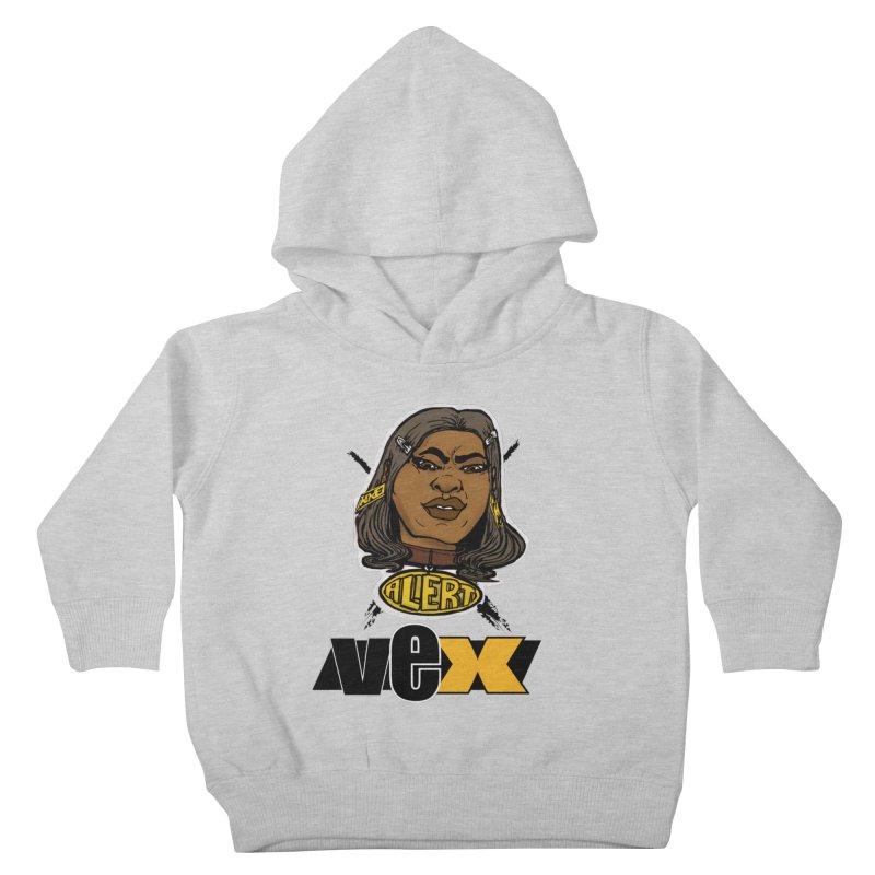 Alert VexFace design Kids Toddler Pullover Hoody by StudioVexer's Artist Shop