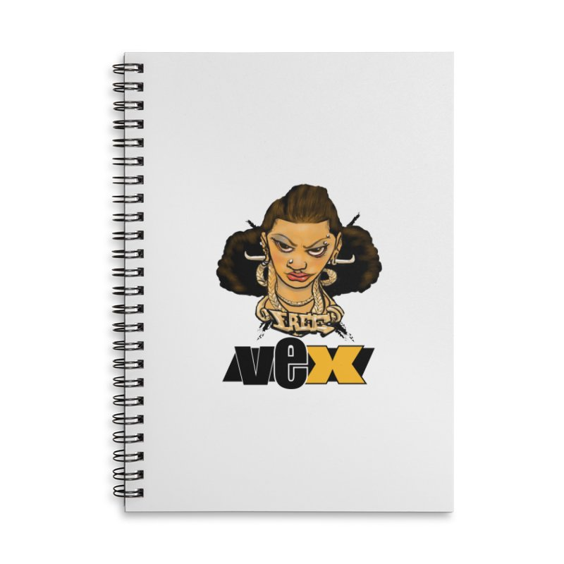 Free VexFace design Accessories Notebook by StudioVexer's Artist Shop