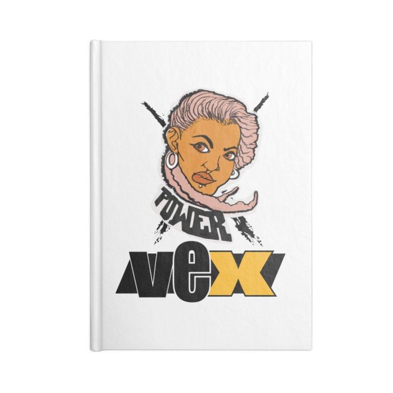 Power Vex Face design Accessories Notebook by StudioVexer's Artist Shop