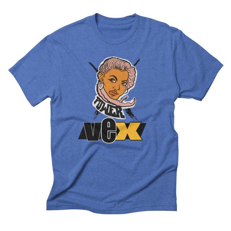 Power Vex Face design Men's T-Shirt by StudioVexer's Artist Shop