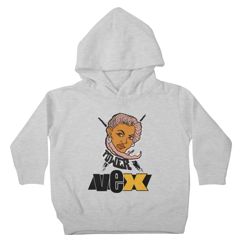 Power Vex Face design Kids Toddler Pullover Hoody by StudioVexer's Artist Shop