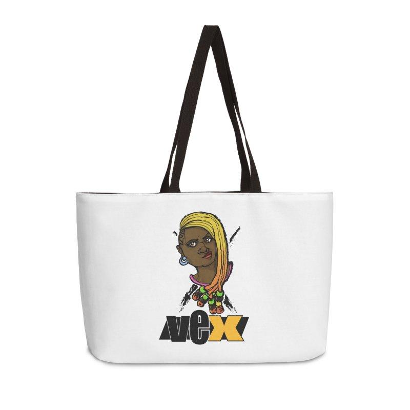 Woke Vex Face design Accessories Bag by StudioVexer's Artist Shop