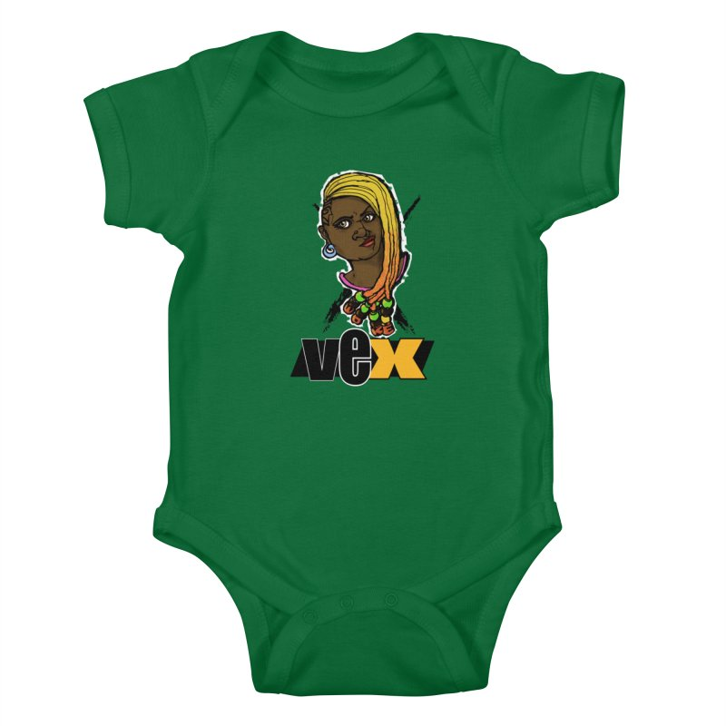 Woke Vex Face design Kids Baby Bodysuit by StudioVexer's Artist Shop