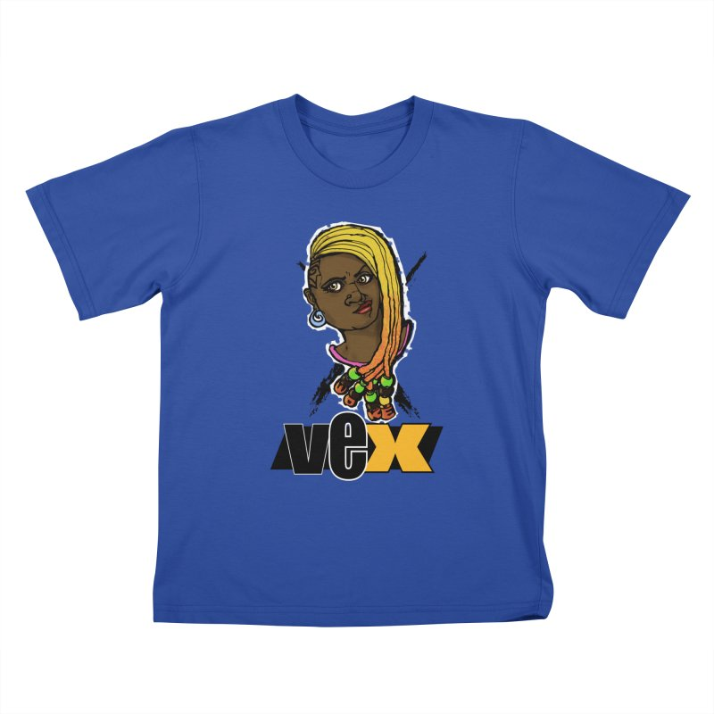 Woke Vex Face design Kids T-Shirt by StudioVexer's Artist Shop