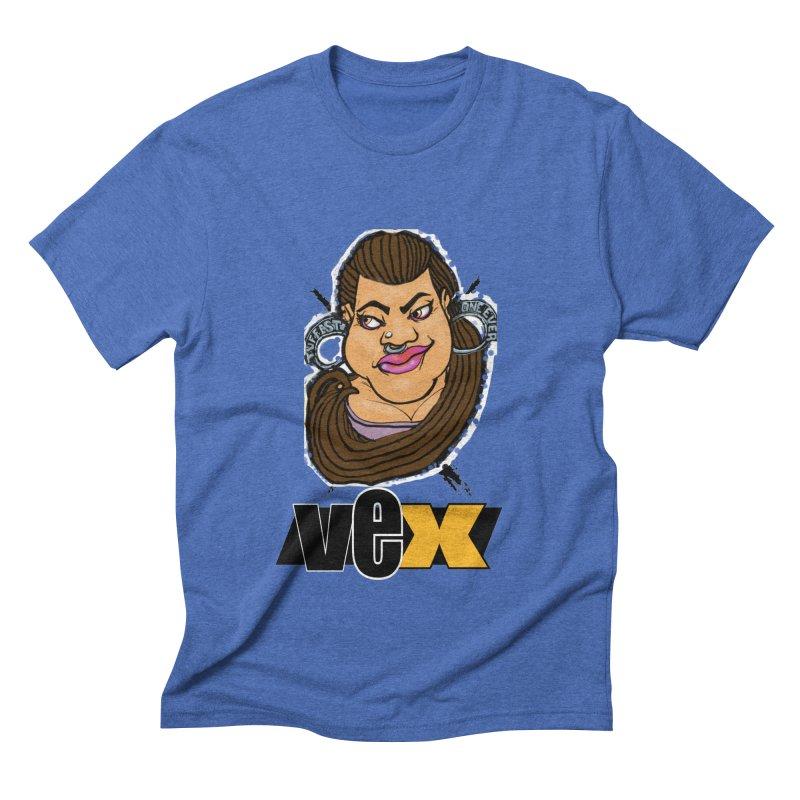 Tuffest Vex Face design Men's T-Shirt by StudioVexer's Artist Shop