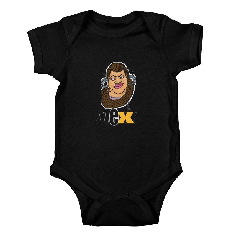 Tuffest Vex Face design Kids Baby Bodysuit by StudioVexer's Artist Shop