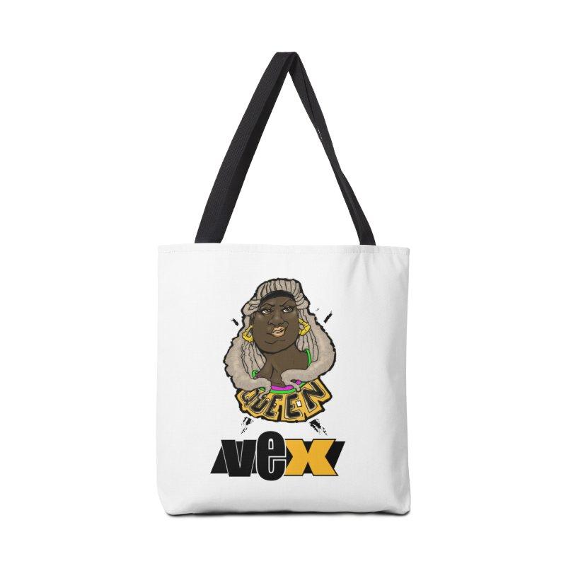 Queen Vex Face design Accessories Bag by StudioVexer's Artist Shop