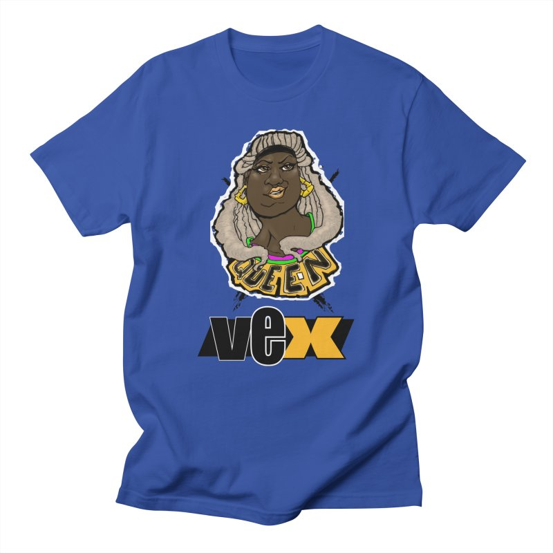 Queen Vex Face design Men's T-Shirt by StudioVexer's Artist Shop