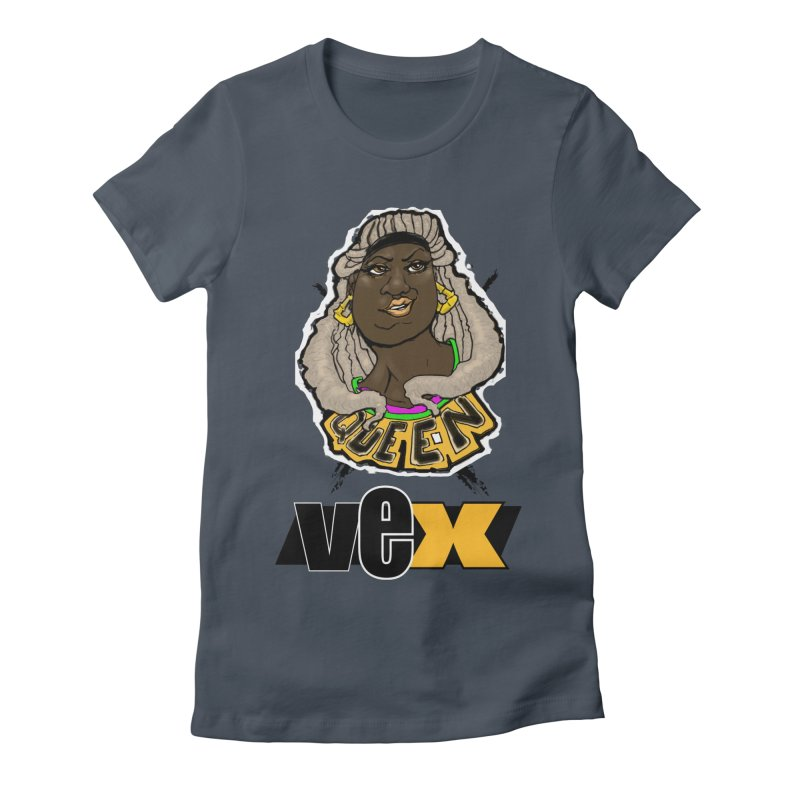 Queen Vex Face design Women's T-Shirt by StudioVexer's Artist Shop