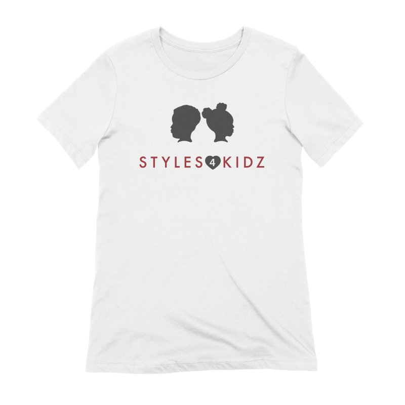 Styles 4 Kidz - White Women's Extra Soft T-Shirt by STYLES 4 KIDZ, NFP