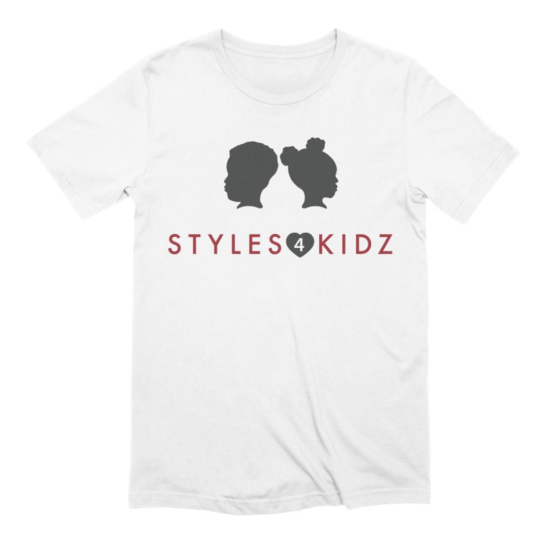 Styles 4 Kidz - White Men's Extra Soft T-Shirt by STYLES 4 KIDZ, NFP