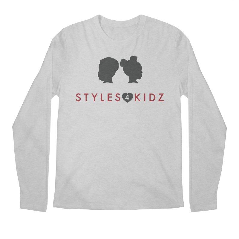 Styles 4 Kidz - White Men's Longsleeve T-Shirt by STYLES 4 KIDZ, NFP