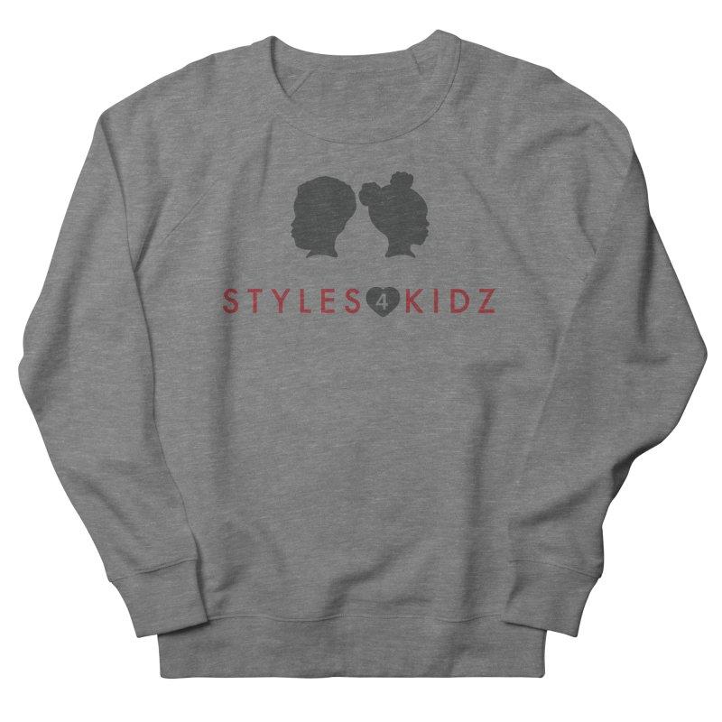 Styles 4 Kidz - White Men's Sweatshirt by STYLES 4 KIDZ, NFP